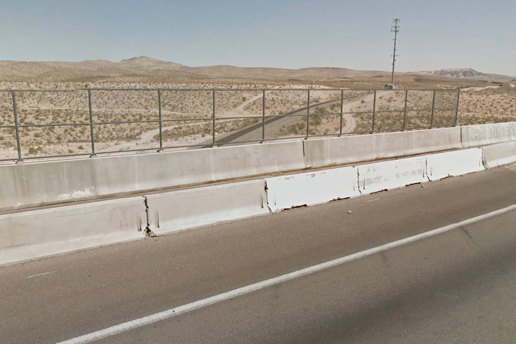 Interstate 15 in Sloan. Google Street View.