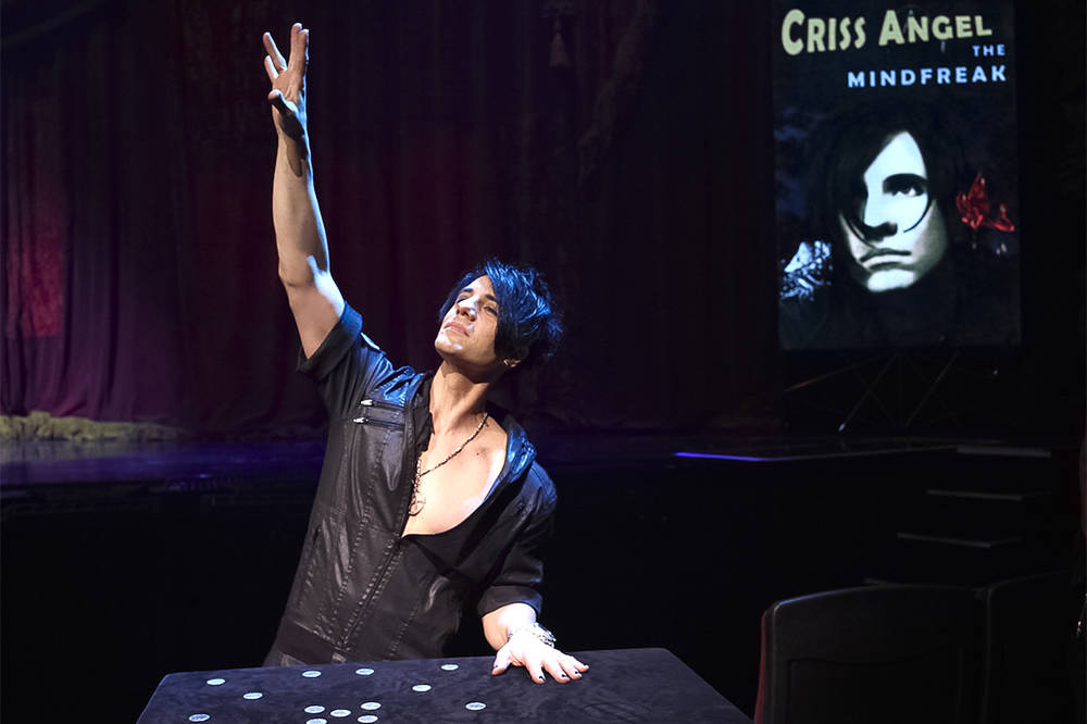 Criss Angel production. (Courtesy)