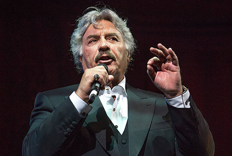 Tony Orlando hosts Heal Every Life Possible on Monday, Sept. 12, 2016, at The Luxor. (Tom Donoghue)