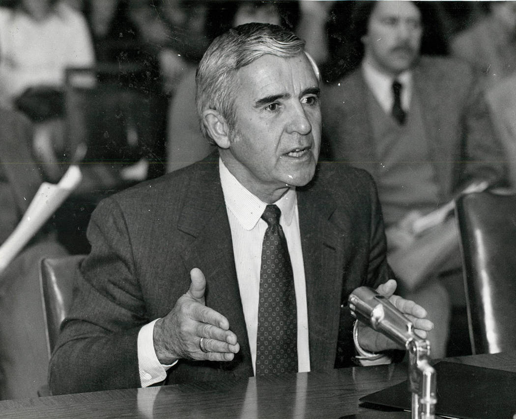 Paul Laxalt September 30, 1981
