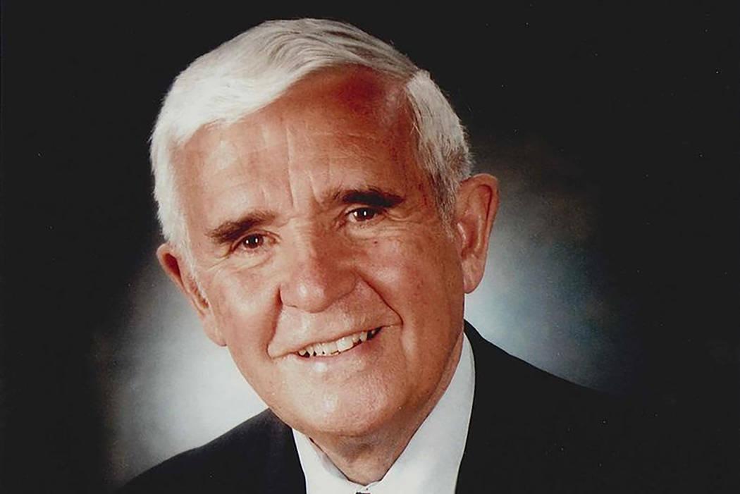 Former Nevada Senator, and Governor, Paul Laxalt (Courtesy)