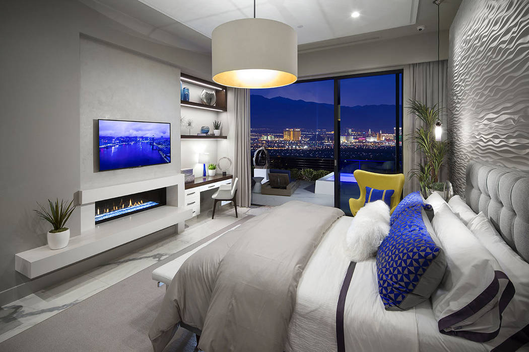 Vu town homes have views of the Las Vegas Strip. (Christopher Homes)