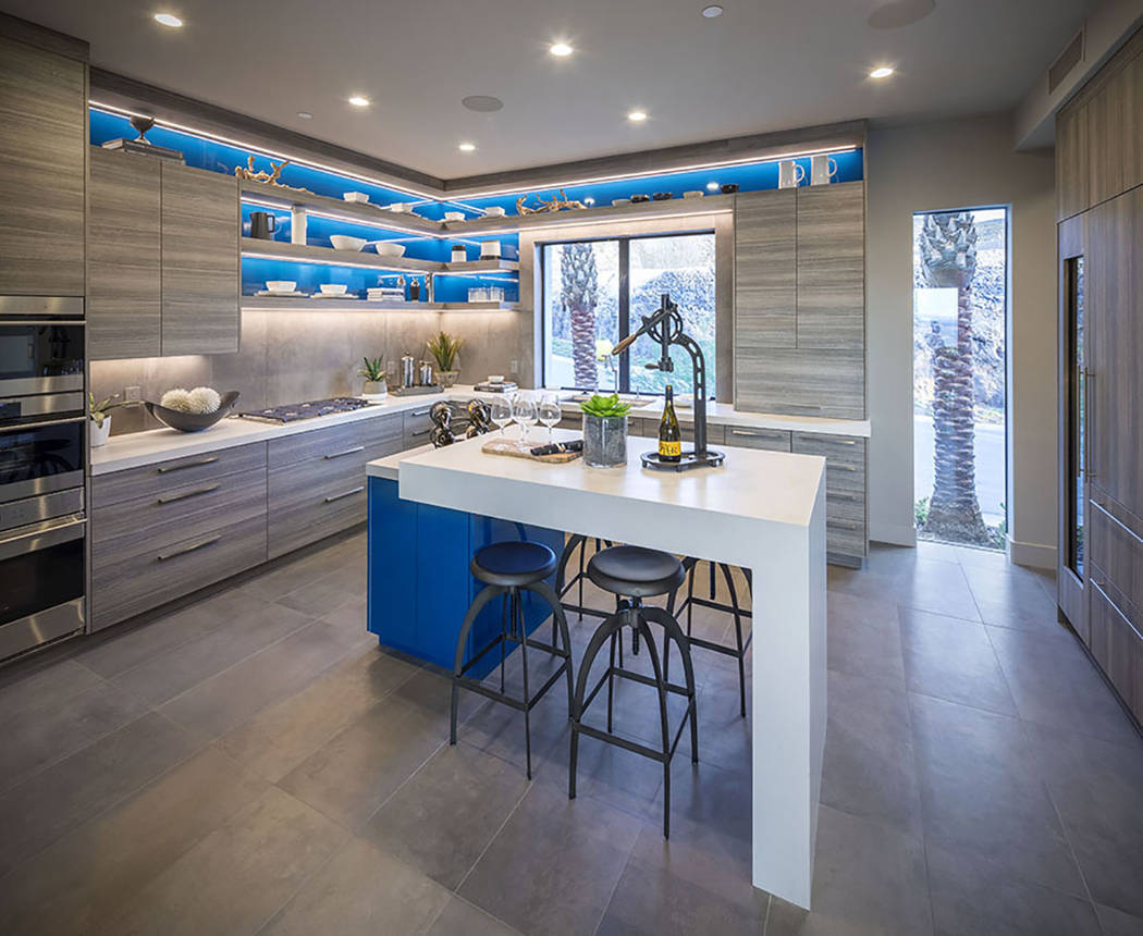 This Vu town home features a large kitchen, something experts say homebuyers, who are downsizing, still want. (Christopher Homes)