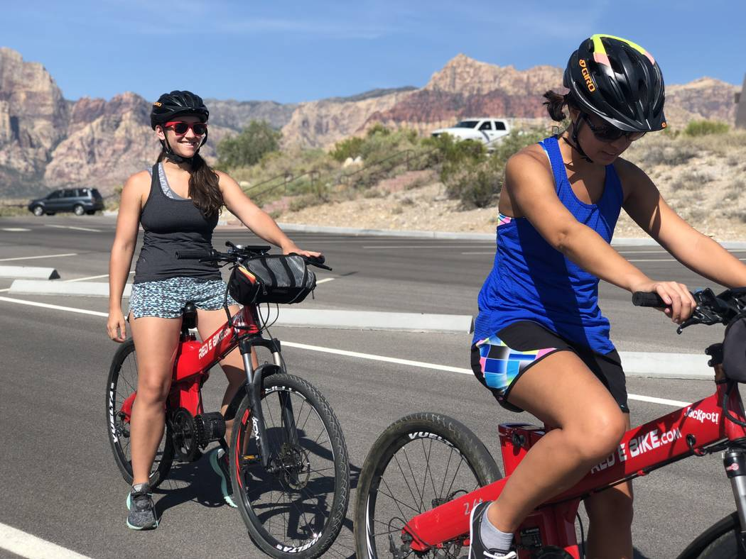Red Rock Electric Bike Tours Take The Strain Out Of Scenic