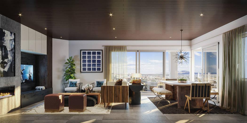 Toll Brothers will open Mira Villa luxury condominiums in Summerlin. (Toll Brothers)