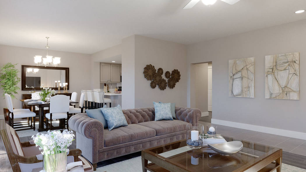 Edward Homes is building the Coronado condominiums in Summerlin. (Edward Homes)