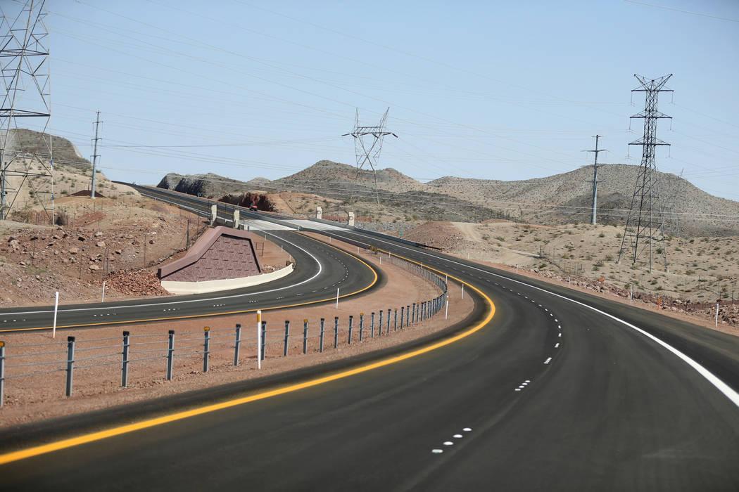 Interstate 11 Friday, Aug. 3, 2018. K.M. Cannon Las Vegas Review-Journal @KMCannonPhoto