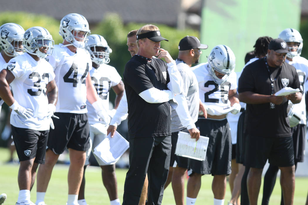 768364ef 3 takeaways from Day 5 of Raiders training camp | Las Vegas Review ...