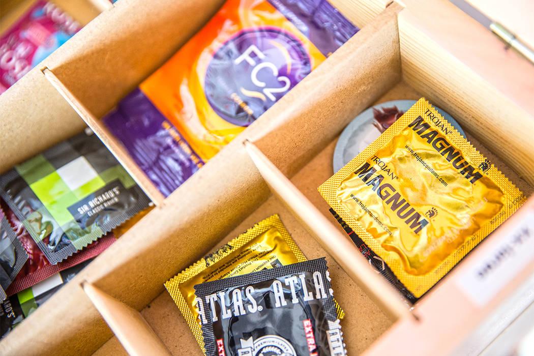 Condoms (Benjamin Hager/Las Vegas Review-Journal)@benjaminhphoto