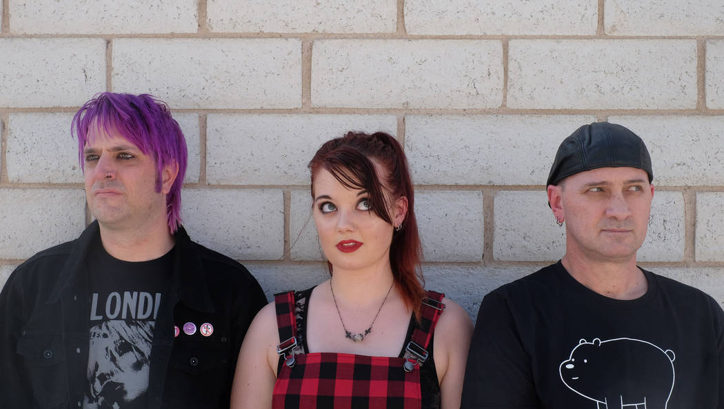 """Vegas pop punks Crimson Riot recently scored an upset victory in the band competition series """"Who Will Rock You."""" (Crimson Riot)"""