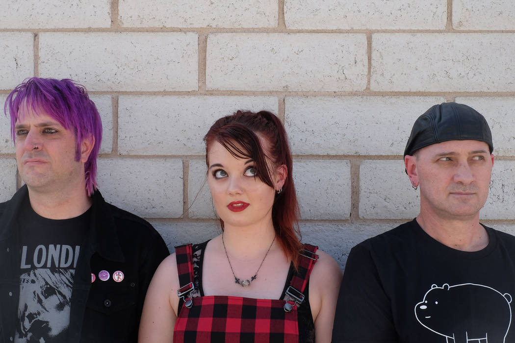 "Vegas pop punks Crimson Riot recently scored an upset victory in the band competition series ""Who Will Rock You."" (Crimson Riot)"