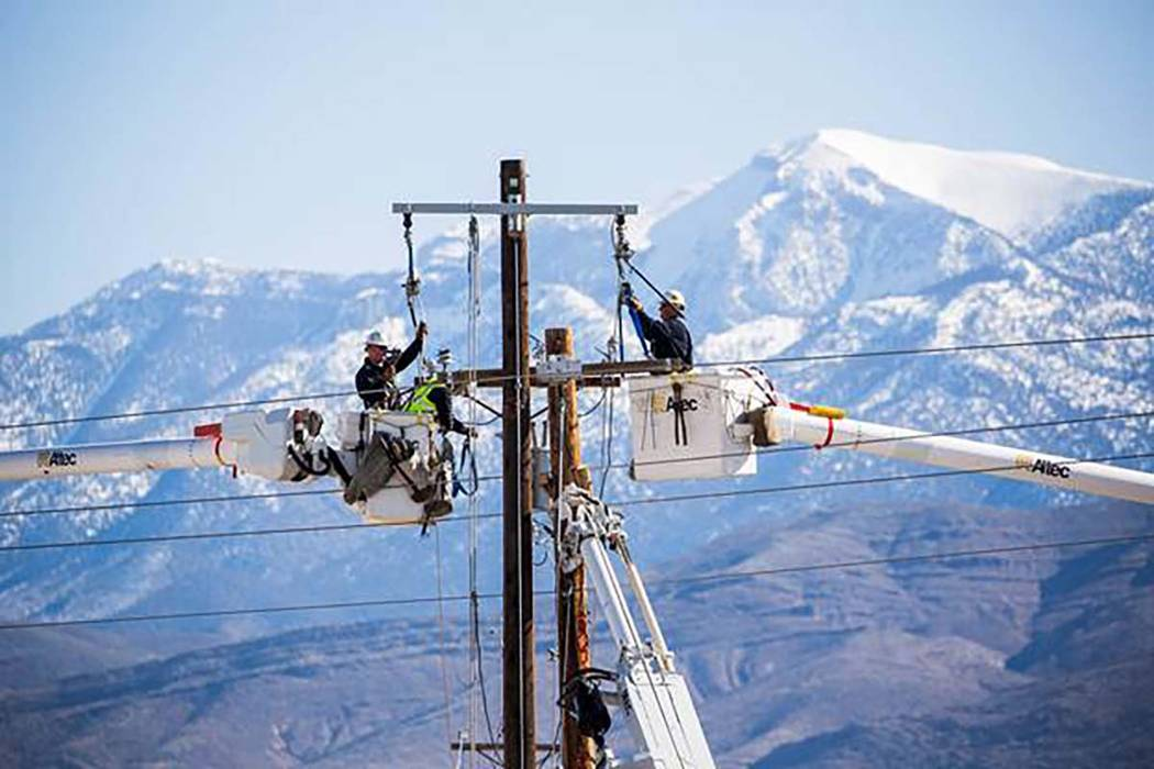 Some areas of rural Nevada benefitted from a partnership between Switch, Valley Communications Association and Churchill County Communications, bringing broadband service to several towns. (Specia ...