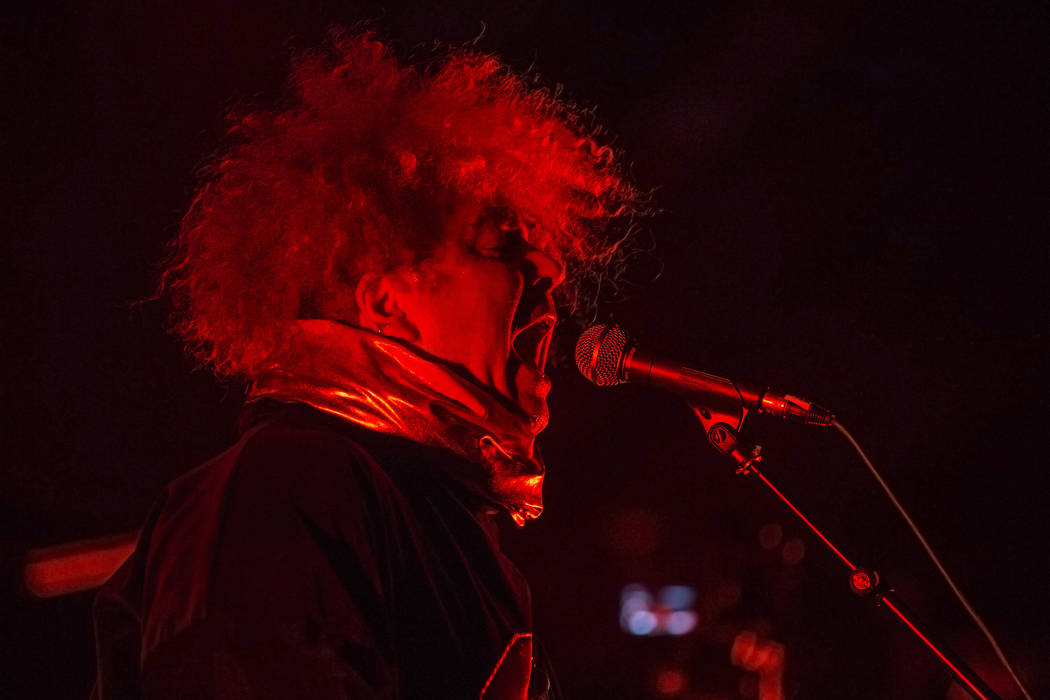 Melvin's frontman Buzz Osborne performs at The Joint during Psycho Las Vegas on Friday, Aug 18, 2017, at the Hard Rock hotel-casino, in Las Vegas. Benjamin Hager Las Vegas Review-Journal @benjamin ...