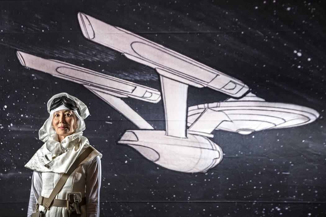Linda Chen, from Denver, Colo., at the Star Trek Las Vegas convention on Thursday, Aug. 2, 2018, at the Rio, in Las Vegas. Benjamin Hager Las Vegas Review-Journal @benjaminhphoto