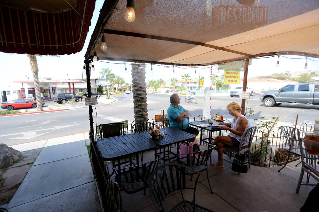 Southwest Diner on the corner of Nevada Way and 5th Street in Boulder City Wednesday, Aug. 1, 2018. K.M. Cannon Las Vegas Review-Journal @KMCannonPhoto