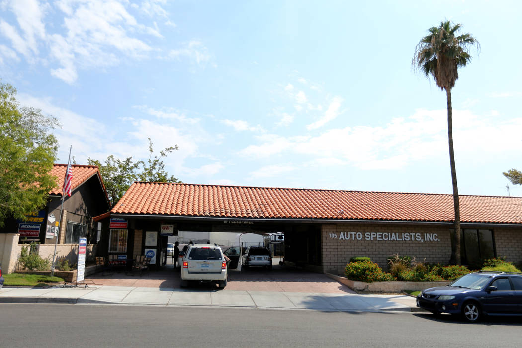 Auto Specialists at 705 Juniper Way in Boulder City Wednesday, Aug. 1, 2018. K.M. Cannon Las Vegas Review-Journal @KMCannonPhoto