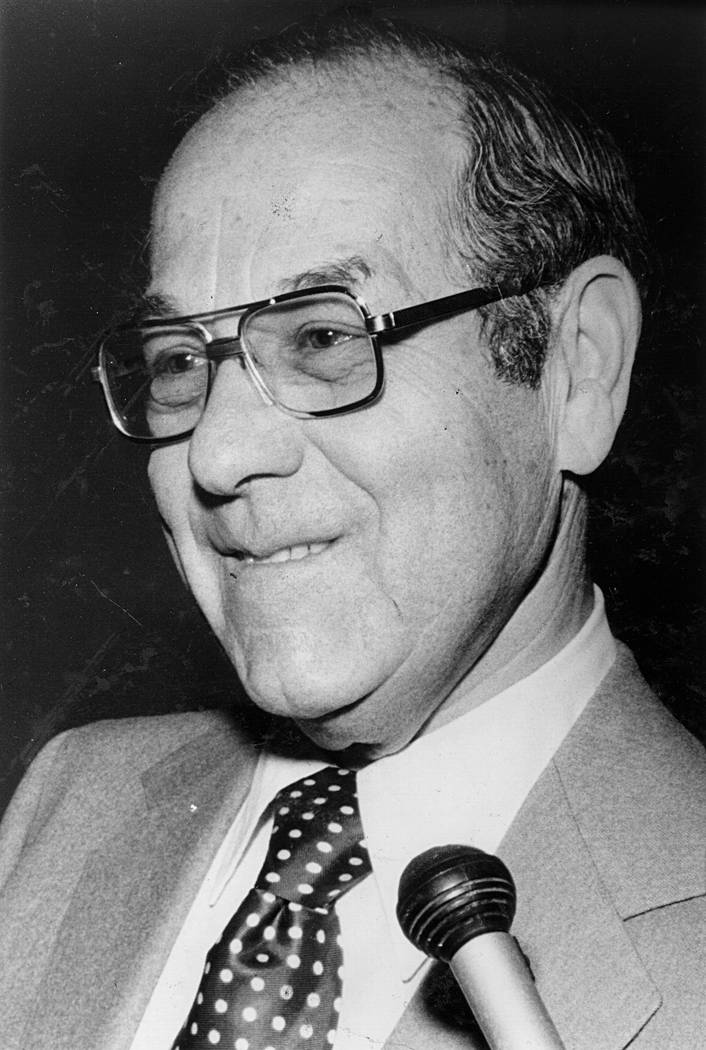 Louis Wiener in 1978. (Las Vegas Review-Journal File Photo)