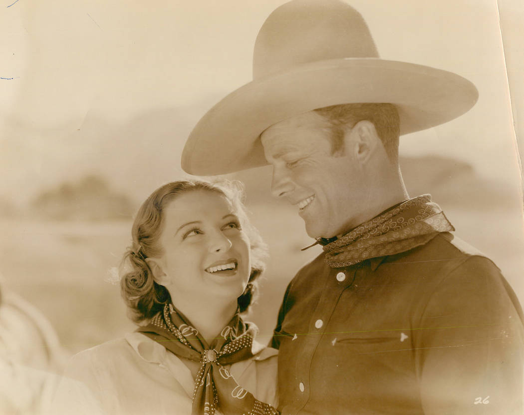 Rex Bell, actor and 21st Lieutenant Governor of Nevada, was married to actress Clara Bow. (File Photo)