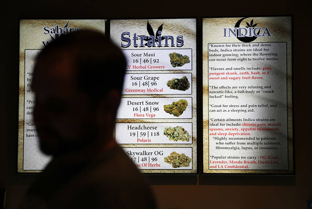 Marijuana sales in 1st year exceed expectations in Nevada