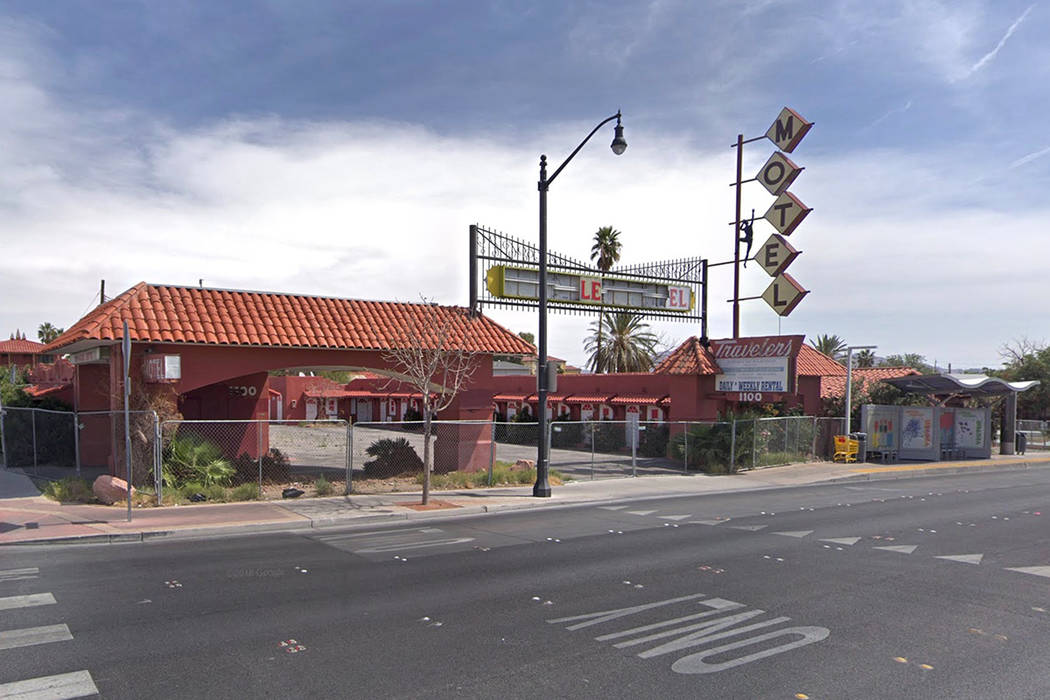 The vacant Travelers Motel, located at 1111 Fremont St. (Google Street View image)