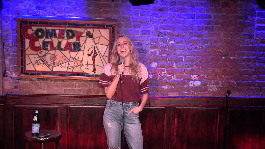 "Stand-up comic Nikki Glaser, who appeared on ""The Comedy Central Roast of Bruce Willis), is a frequent headliner at the Comedy Cellar in New York. (Comedy Cellar)"