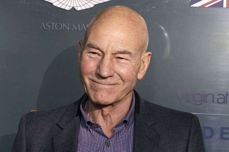 Actor Patrick Stewart attends the GREAT British film reception honoring the British nominees of the 87th Annual Academy Awards at The London West Hollywood in West Hollywood, California February 2 ...