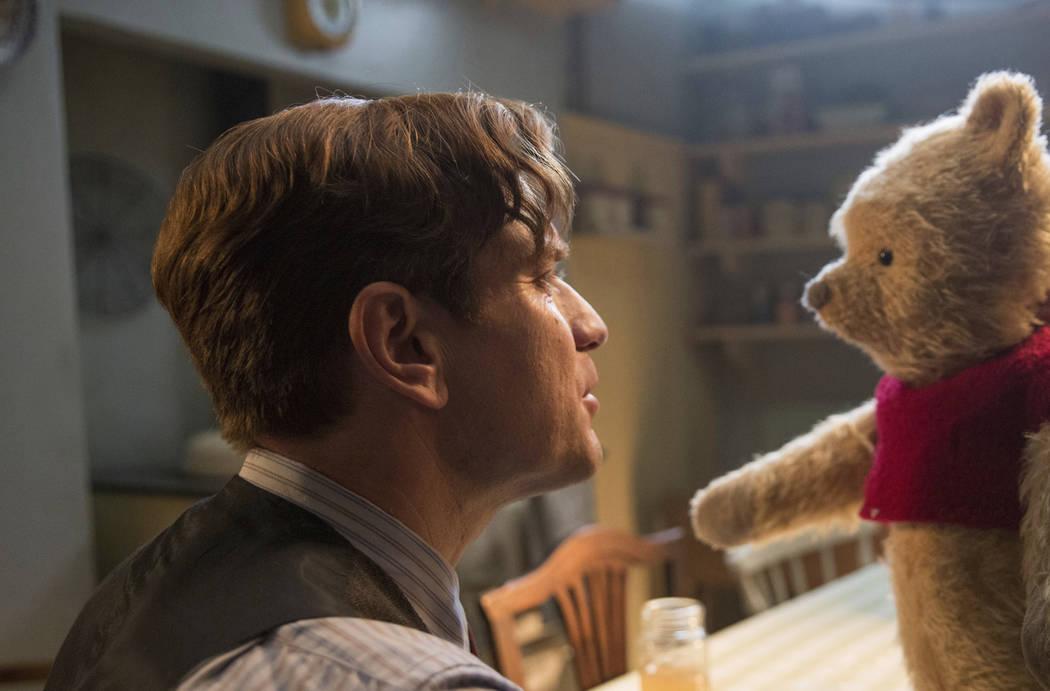 "Ewan McGregor stars in a scene from ""Christopher Robin."" (Laurie Sparham/Disney via AP, File)"