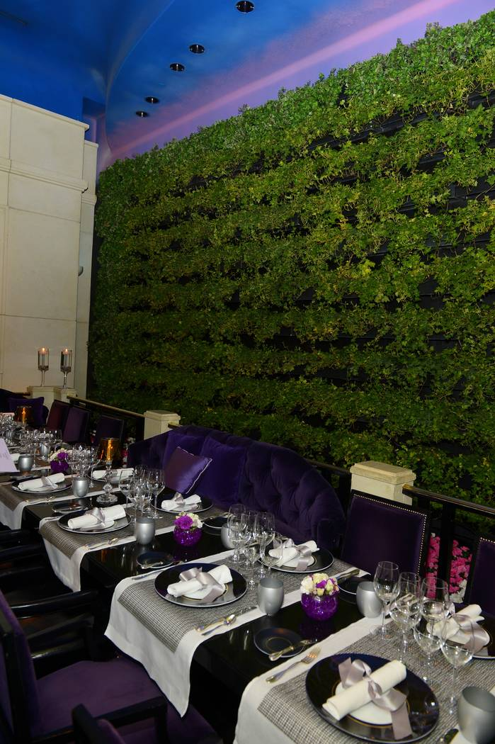 Private dining room at Joel Robuchon. (Courtesy photo by Bryan Steffy)