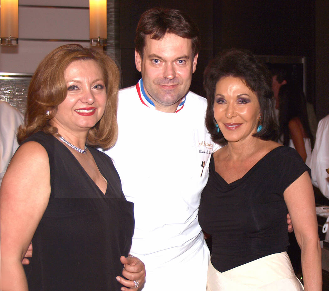 Mariam Afshai, from left, chef Claude Le Tohic and Wendy Plaster Mariam Afshai, from left, chef Claude Le Tohic and Wendy Plaster