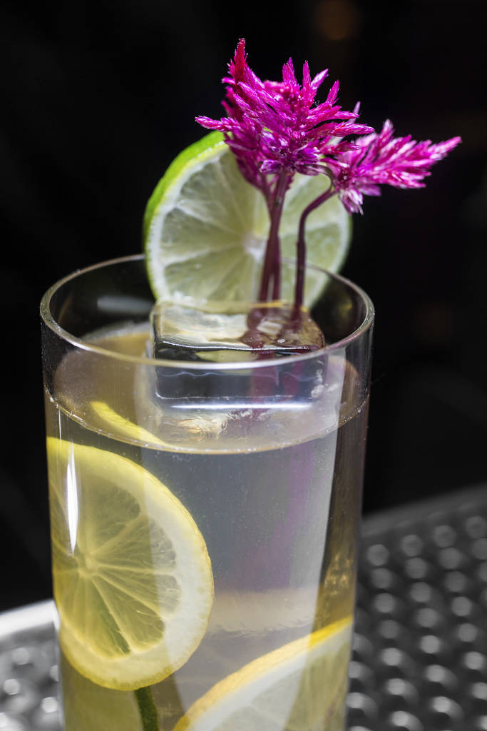 The Scotch 80 Pimm's at Scotch 80 Prime on Monday, Aug., 6, 2018, at the Palms, in Las Vegas. Benjamin Hager Las Vegas Review-Journal @benjaminhphoto