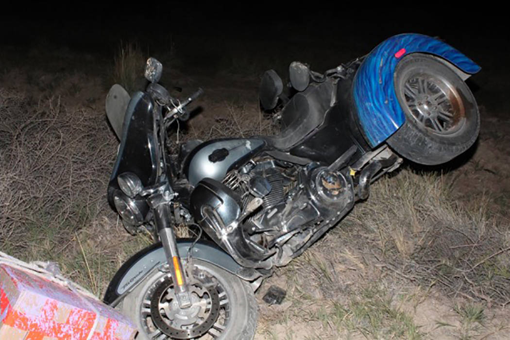 The Nevada Highway Patrol has identified the 73-year-old man who died in a fatal motorcycle crash near Beatty. (Nevada Highway Patrol)