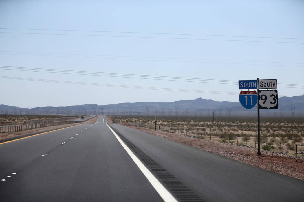 Interstate 11 Sticker Nevada Highway Sign Decal Las Vegas