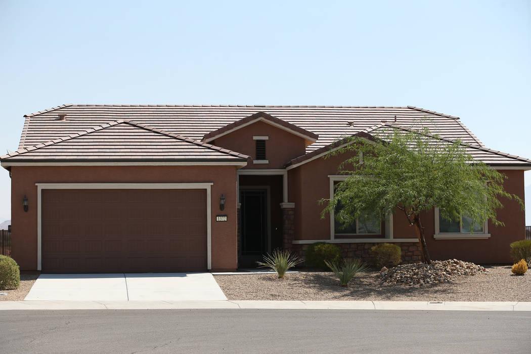 Las Vegas Strip gunman Stephen Paddock's house in Mesquite, Nev., Tuesday, Aug. 7, 2018. Erik Verduzco Las Vegas Review-Journal @Erik_Verduzco