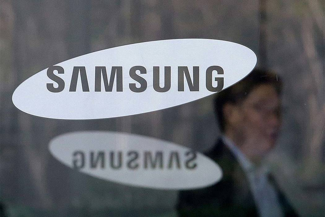Samsung Electronics says it will spend $22 billion over the next three years on artificial intelligence, auto components, and other future businesses. (Ahn Young-joon/AP file)