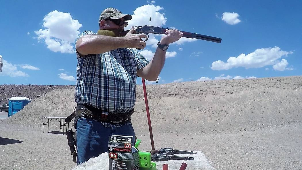 Firearms used in Cowboy Action Shooting must replicate those used before 1898, but can be modified on the inside to speed things up. Cowboy shooters enjoy sharing their sport and even their firear ...
