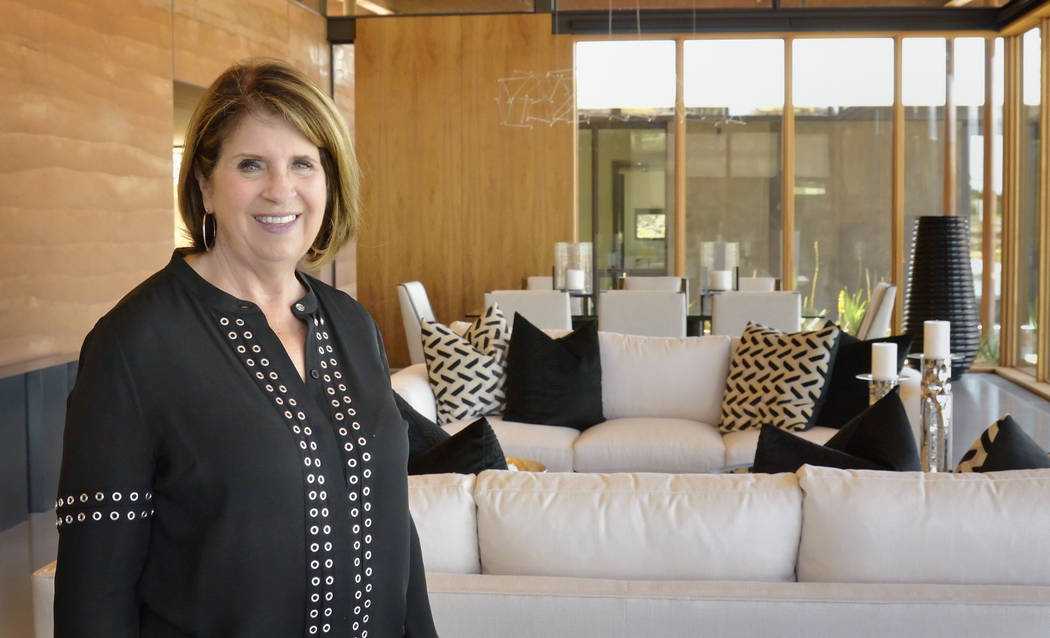 Bill Hughes Real Estate Millions Donna Johnson, owner of Luxury Design, selected the home's furnishings.