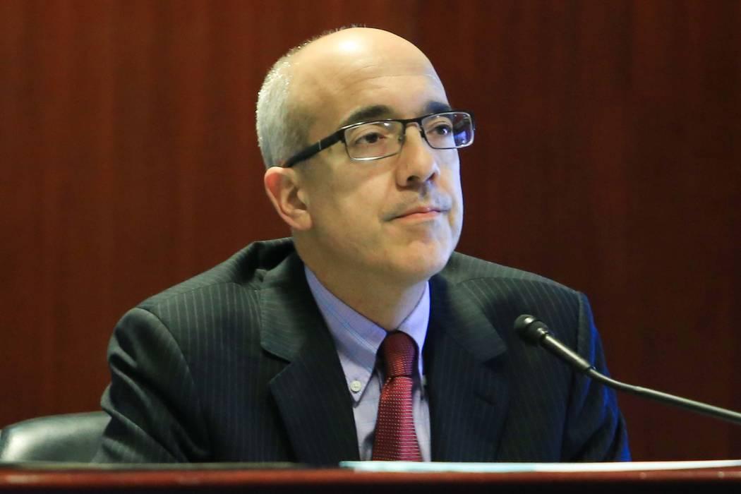 State Sen. Mo Denis, seen in 2017 (Las Vegas Review-Journal)