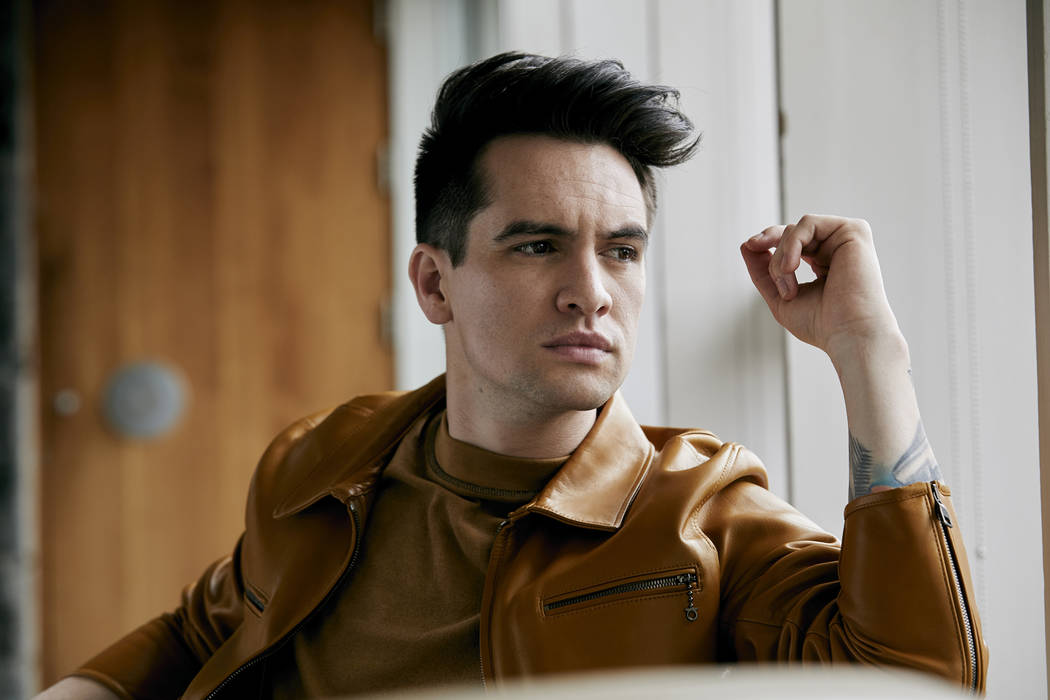 Panic! At the Disco's Brendon Urie is the band's sole remaining original member. (Jimmy Fontaine)