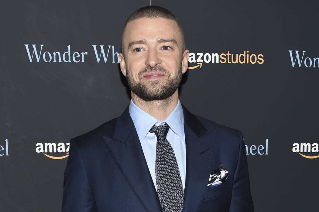 """Singer-actor Justin Timberlake attends a special screening of his film, """"Wonder Wheel"""", in New York on Nov. 14, 2017. (Evan Agostini/Invision/AP, File)"""