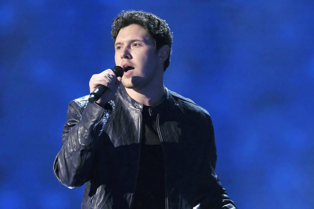 "Daniel Emmet performs on ""America's Got Talent"" (Trae Patton/NBC)"