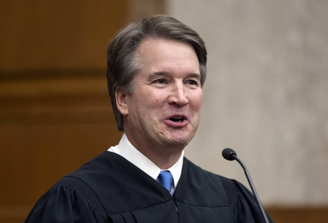 The Senate will begin a confirmation hearing for President Donald Trump's Supreme Court nominee, Judge Brett Kavanaugh, on Sept. 4. (J. Scott Applewhite/AP)