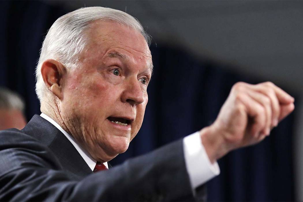 "U.S. Attorney General Jeff Sessions said Thursday in Boston that he has the ""highest confidence"" in Deputy Attorney General Rod Rosenstein. He suggested lawmakers instead focus on reforming the na ..."