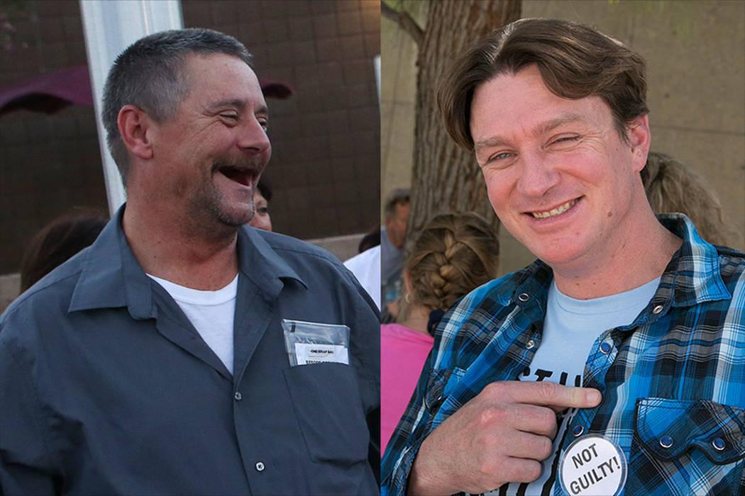 Ricky Lovelien, left, and Steven Stewart (Las Vegas Review-Journal)