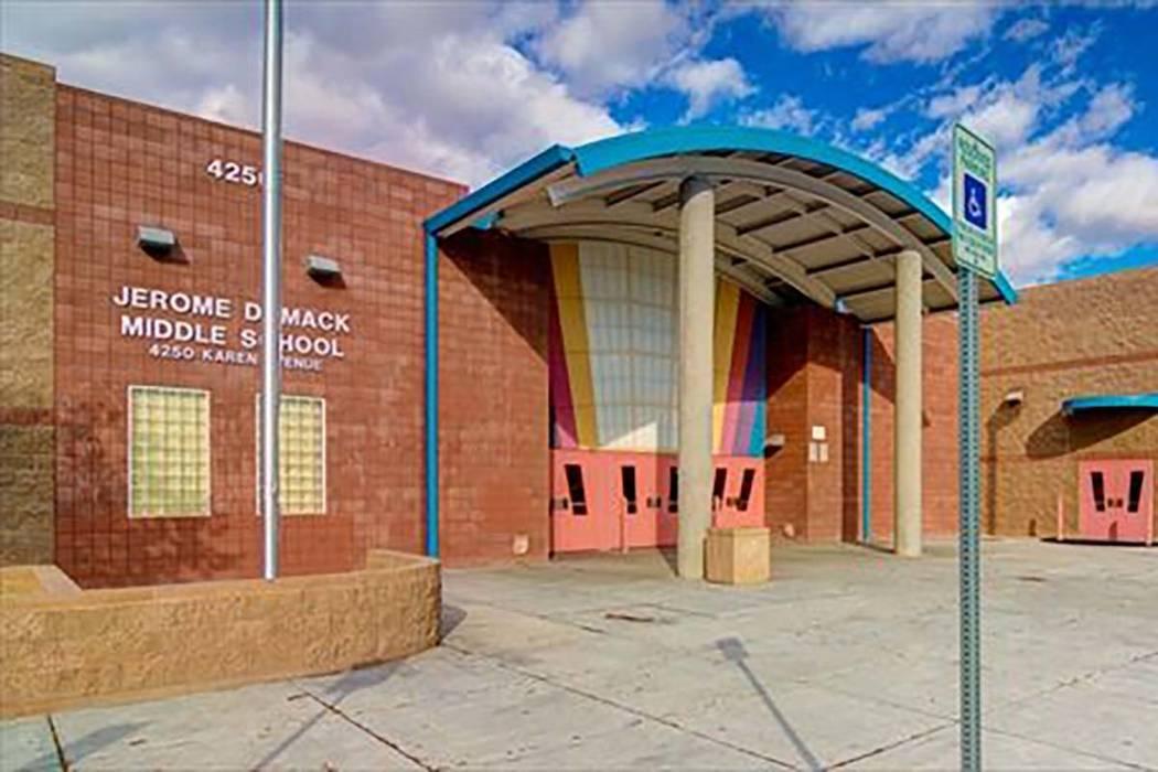Las Vegas Middle School Starts Year With Lockdown Las Vegas Review Journal