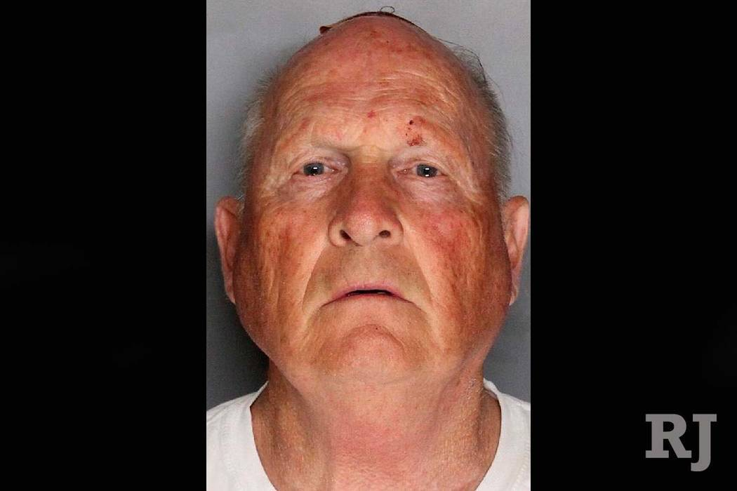 This undated law enforcement photo provided by the Sacramento County, Calif., Sheriff's Office shows Joseph James DeAngelo. DeAngelo, a suspected California serial killer who committed at least 12 ...