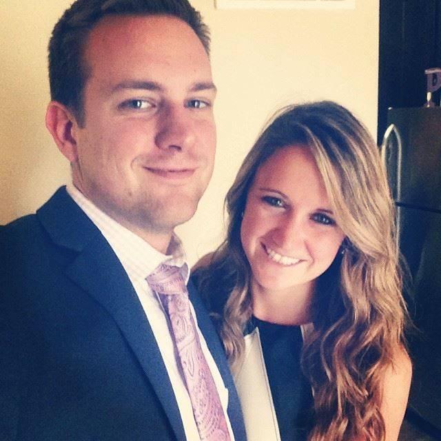 Tina Frost with her boyfriend, Austin Hughes. Facebook