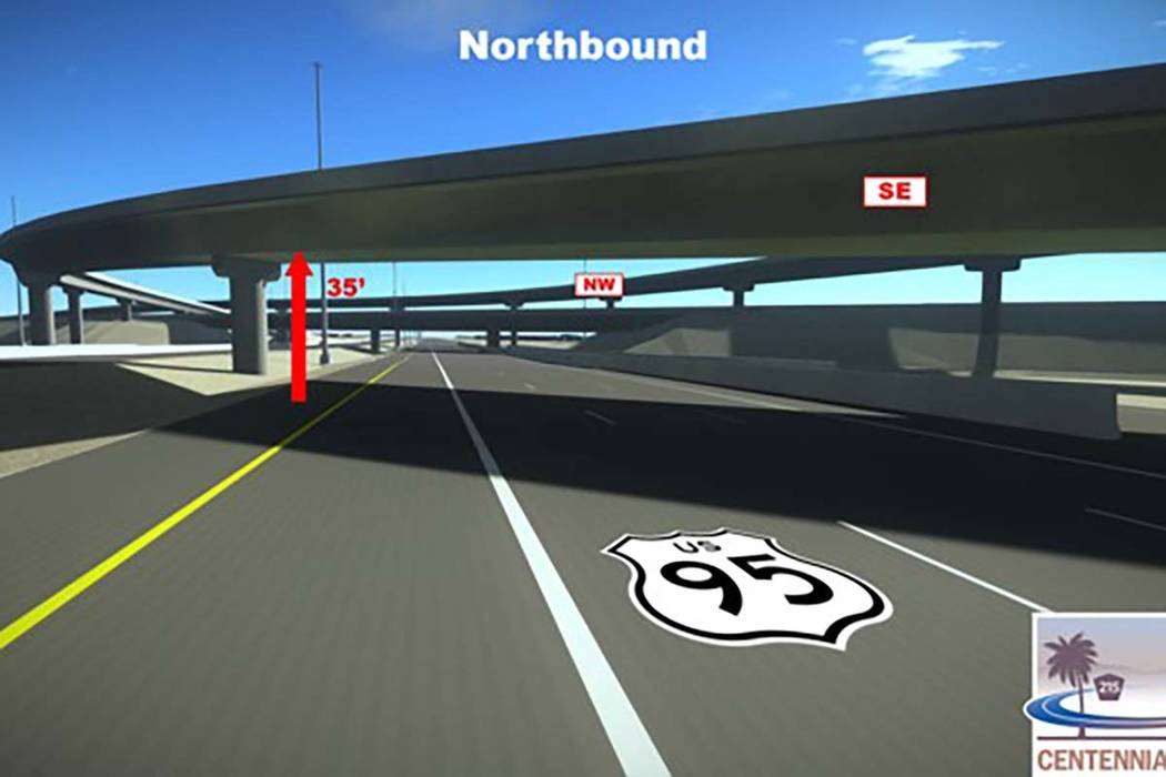 Construction is expected to start by the end of the year on three new freeway interchange ramps at the Centennial Bowl in northwest Las Vegas. The $61.5 million project is expected to be completed ...