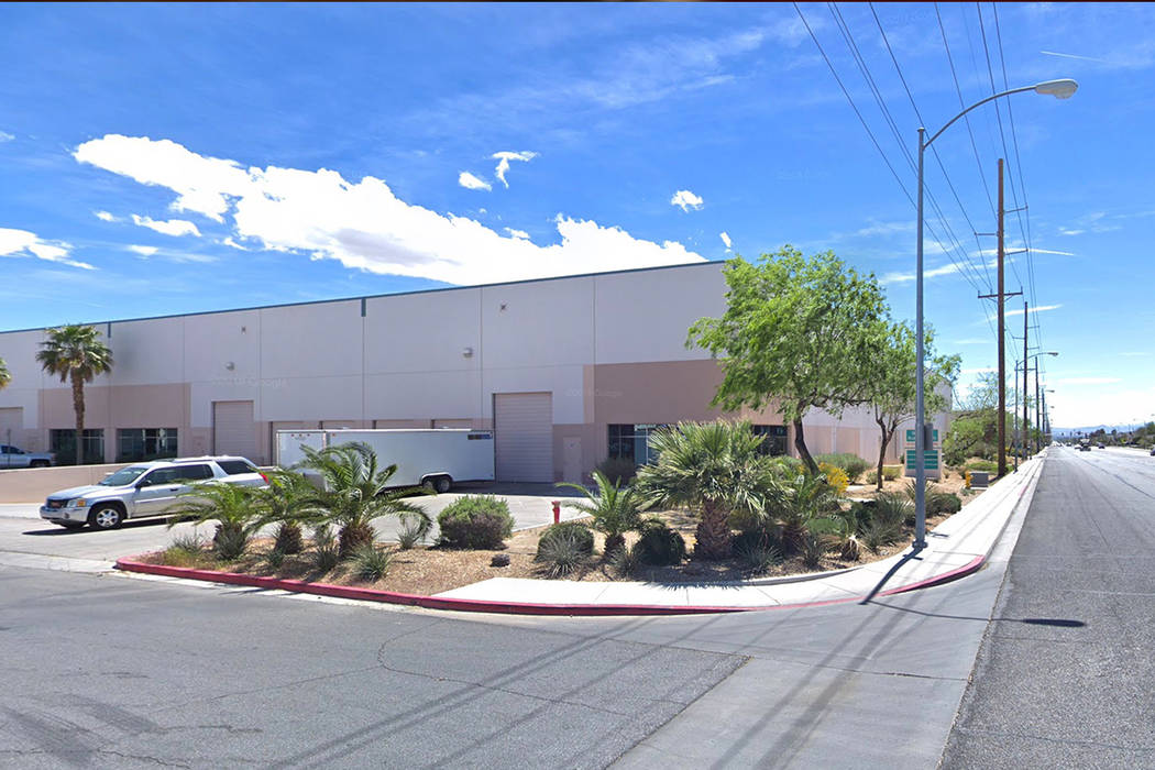 4168 N. Pecos Road in Las Vegas is pictured in this Google Street View image.