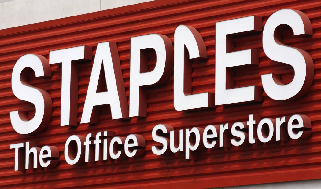 A 34-week pregnant woman was forced to lift up her shirt to expose her belly and prove she was not shoplifting from a Staples. (AP)