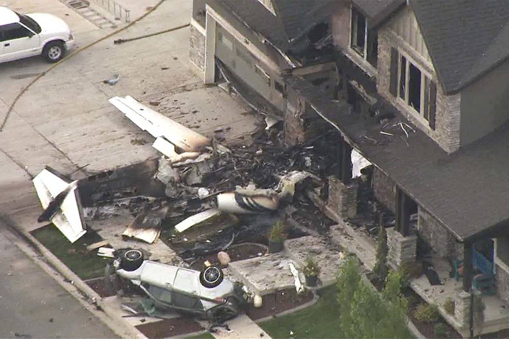 Man Crashes Plane Into Own Home After Fight With Wife Arrest Las